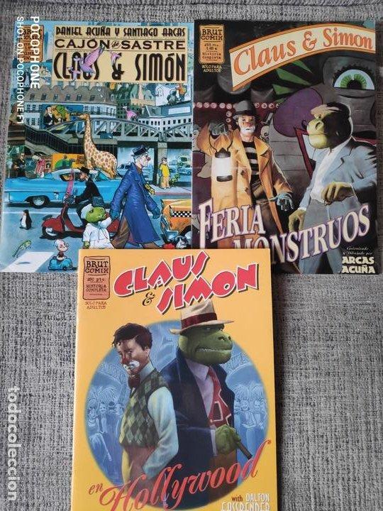 CLAUS Y SIMON SERIE COMPLETA EDICIONES LA CUPULA (Tebeos y Comics - La Cúpula - Autores Españoles)