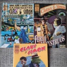 Cómics: CLAUS Y SIMON SERIE COMPLETA EDICIONES LA CUPULA. Lote 201650986