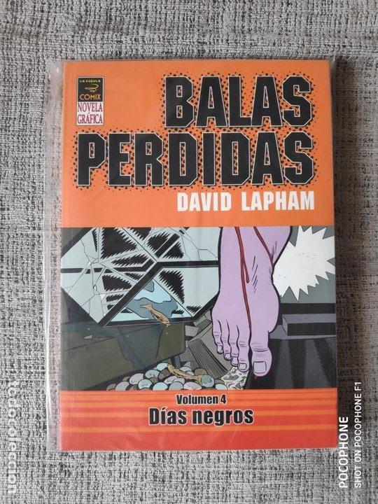 BALAS PERDIDAS VOLUMEN 4 DÍAS NEGROS EDICIONES LA CUPULA (Tebeos y Comics - La Cúpula - Autores Españoles)