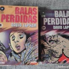 Cómics: BALAS PERDIDAS SERIE CASI COMPLETA EDICIONES LA CUPULA. Lote 201651882
