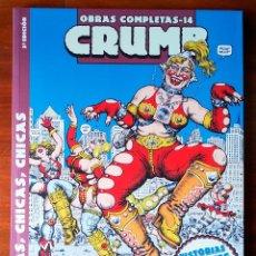 Cómics: CÓMIC 'CHICAS, CHICAS, CHICAS (CRUMB. OBRAS COMPLETAS Nº 14)' (ROBERT CRUMB). Lote 201717408