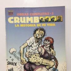Comics: HISTORIA DE MI VIDA /OBRAS COMPLETAS-3 / ROBERT-CRUMB. Lote 220845915