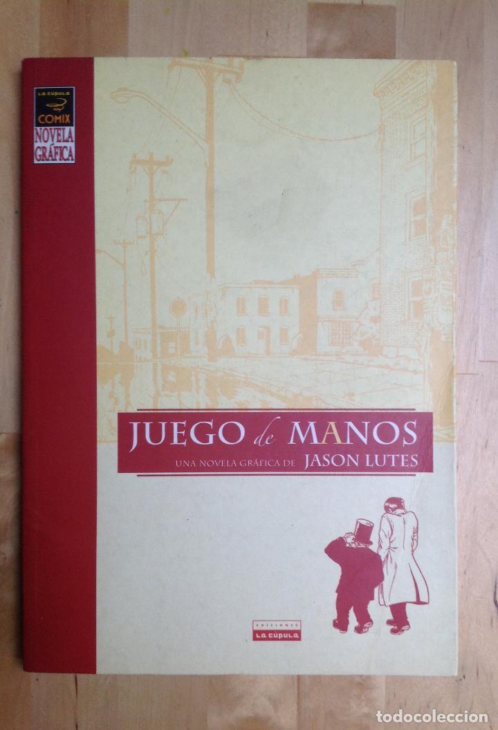 JUEGO DE MANOS - JASON LUTES (Tebeos y Comics - La Cúpula - Comic Europeo)