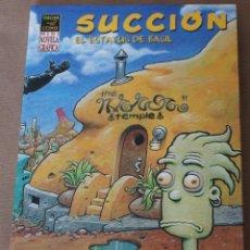 Cómics: SUCCIÓN – MINI NOVELA GRÁFICA 18 X 13 CM. – LA CÚPULA – 1ª ED. AÑO 2004 – NUEVO (PRECINTADO). Lote 94612764