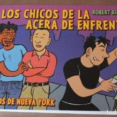 Cómics: LOS CHICOS DE LA ACERA DE ENFRENTE – NOVELA GRÁFICA - LA CÚPULA - NUEVO (PRECINTADO). Lote 203365496