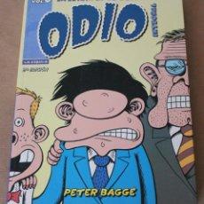 Cómics: PETER BAGGE – ODIO - INTEGRAL 0 – LA JUVENTUD DE BUDDY – COMO NUEVO – LA CÚPULA - NOVELA GRÁFICA. Lote 28474580