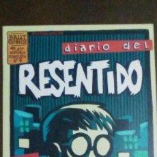 Cómics: DIARIO DEL RESENTIDO Nº4 - BRUT COMIX. Lote 204143521