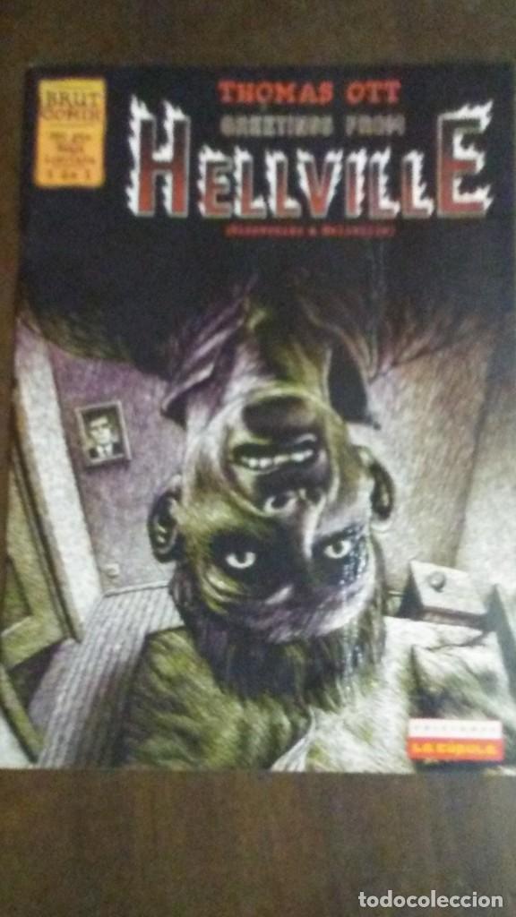HELLVILLE - BRUT COMIX (Tebeos y Comics - La Cúpula - Autores Españoles)