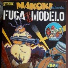 Cómics: GALLARDO - MEDIAVILLA . MAKOKI. FUGA EN LA MODELO. Lote 204749822