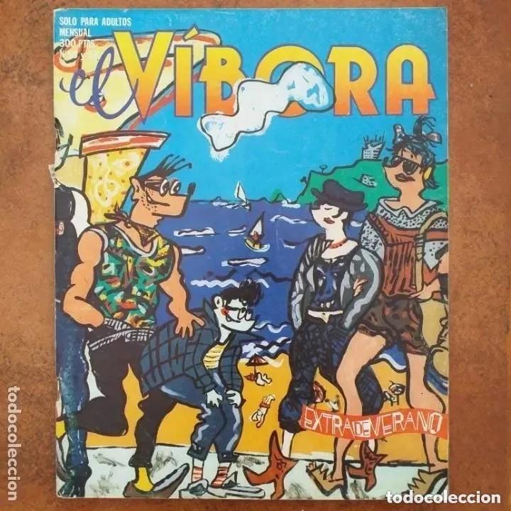 EL VIBORA NUM 56-57 (Tebeos y Comics - La Cúpula - El Víbora)