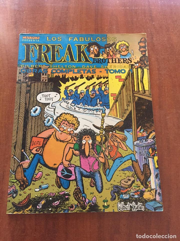 LOS FABULOSOS FREAK BROTHERS. OBRAS COMPLETAS (Tebeos y Comics - La Cúpula - Comic USA)