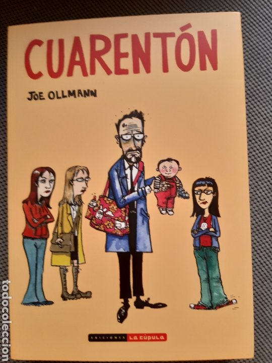 CUARENTÓN. JOE OLLMAN (Tebeos y Comics - La Cúpula - Comic USA)