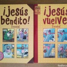 Cómics: LOTE TRONCHET: ¡JESÚS BENDITO!/¡JESÚS VUELVE! (LA CÚPULA/BRUT CÓMIX, 2005). HISTORIAS COMPLETAS.. Lote 205813656