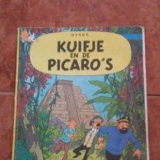 Cómics: TINTIN HERGE KUIFJE EN DE PICARO'S 1976. Lote 205824273