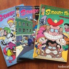 Fumetti: SUDANDO TINTA. Lote 205825278