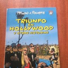Cómics: TRIUNFO EN HOLLYWOOD Y OTRAS HISTORIAS. Lote 205832583