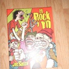 Comics: EL ROCK Y YO - JOE SACCO - LA CUPULA. Lote 205848743