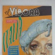 Cómics: COMIC EL VIVORA ESPECIAL ITALIA/MBE¡¡¡¡¡. Lote 205896433