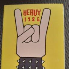Cómics: HEAVY 1986. MIGUEL B. NUÑEZ. LA CÚPULA. Lote 206150322