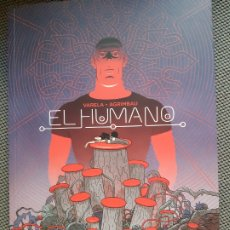 Cómics: EL HUMANO. LUCAS VARELA, DIEGO AGRIMBAU. LA CÚPULA. Lote 206150386