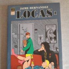 Cómics: LOCAS TOMO 1. JAIME HERNÁNDEZ. ED LA CÚPULA. Lote 206529311