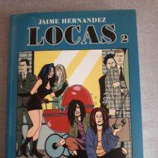 Cómics: LOCAS TOMO 2. JAIME HERNÁNDEZ. ED LA CÚPULA. Lote 206529653