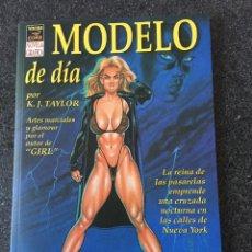 Comics: MODELO DE DÍA - K. J. TAYLOR - VIBORA COMIX - LA CUPULA - 1995 - ¡NUEVO!. Lote 206542003