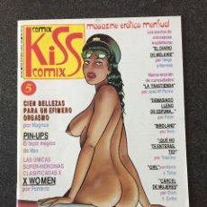 Cómics: KISS COMIX Nº 5 - MAGAZINE ERÓTICO MENSUAL - LA CUPULA - 1992 - ¡NUEVO!. Lote 207273480