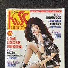 Cómics: KISS COMIX Nº 16 - MAGAZINE ERÓTICO MENSUAL - LA CUPULA - 1993 - ¡NUEVO!. Lote 207274271