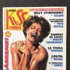 Comics : KISS COMIX Nº 48 - MAGAZINE ERÓTICO MENSUAL - LA CUPULA - 1995 - ¡NUEVO!. Lote 207277170