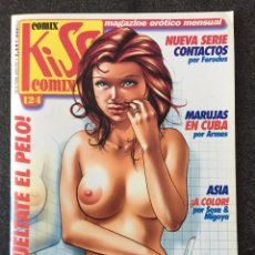 Comics : KISS COMIX Nº 124 - MAGAZINE ERÓTICO MENSUAL - LA CUPULA - 2002 - ¡NUEVO!. Lote 207285573
