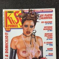 Cómics: KISS COMIX Nº 134 - MAGAZINE ERÓTICO MENSUAL - LA CUPULA - 2002 - ¡NUEVO!. Lote 207286281