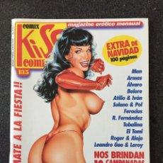 Cómics: KISS COMIX Nº 135 - MAGAZINE ERÓTICO MENSUAL - LA CUPULA - 2002 - ¡NUEVO!. Lote 207286370