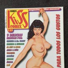 Cómics: KISS COMIX Nº 144 - MAGAZINE ERÓTICO MENSUAL - LA CUPULA - 2003 - ¡NUEVO!. Lote 207286997