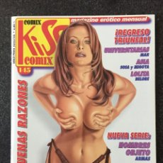 Comics : KISS COMIX Nº 145 - MAGAZINE ERÓTICO MENSUAL - LA CUPULA - 2003 - ¡NUEVO!. Lote 207287035
