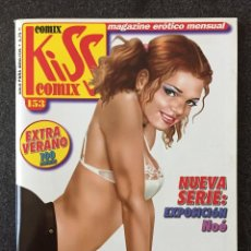 Cómics: KISS COMIX Nº 153 - MAGAZINE ERÓTICO MENSUAL - LA CUPULA - 2004 - ¡NUEVO!. Lote 207287612