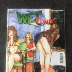 Fumetti: WET COMIX Nº 12 - MAGAZINE ERÓTICO SOLO PARA ADULTOS - MEGAMULTIMEDIA - 1999 - ¡NUEVO!. Lote 207540108