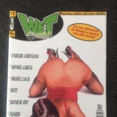 Fumetti: WET COMIX Nº 15 - MAGAZINE ERÓTICO SOLO PARA ADULTOS - MEGAMULTIMEDIA - 1999 - ¡NUEVO!. Lote 207540332