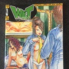 Fumetti: WET COMIX Nº 22 - MAGAZINE ERÓTICO SOLO PARA ADULTOS - MEGAMULTIMEDIA - 2000 - ¡NUEVO!. Lote 207540888