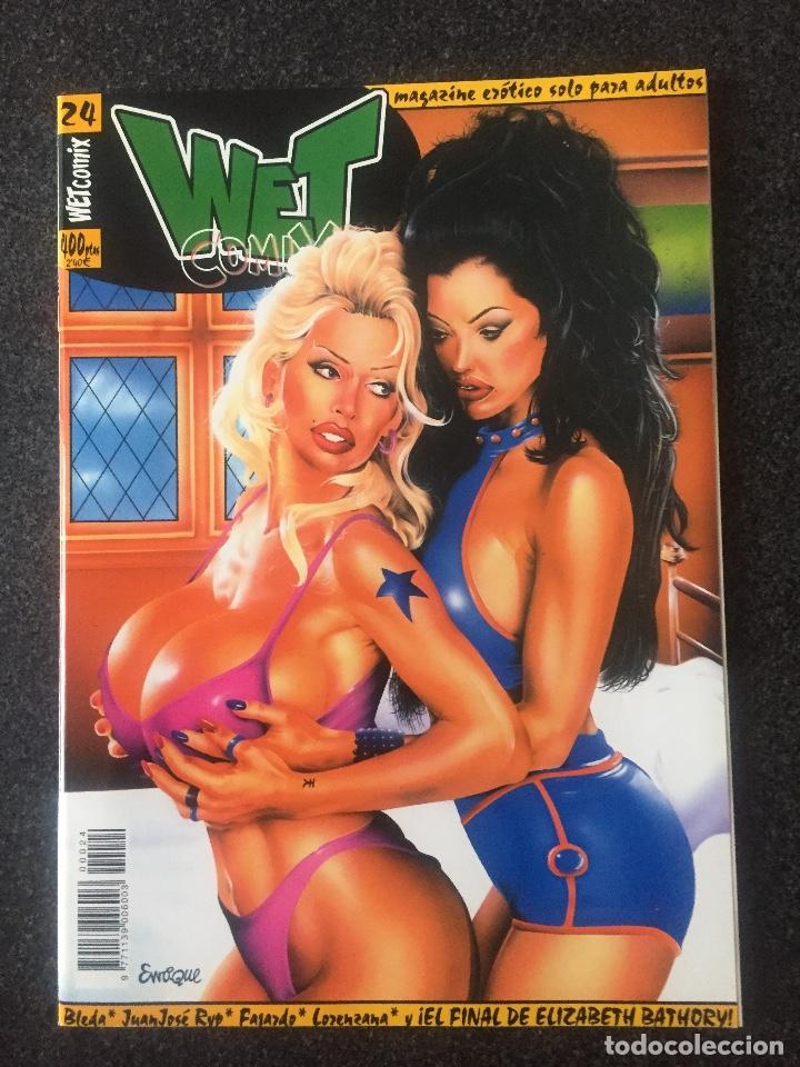 WET COMIX Nº 24 - MAGAZINE ERÓTICO SOLO PARA ADULTOS - MEGAMULTIMEDIA - 2000 - ¡NUEVO! (Tebeos y Comics - La Cúpula - Comic Europeo)