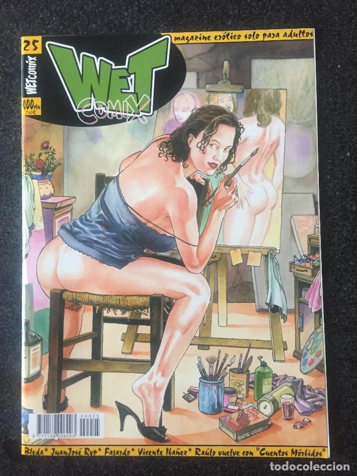 WET COMIX Nº 25 - MAGAZINE ERÓTICO SOLO PARA ADULTOS - MEGAMULTIMEDIA - 2000 - ¡NUEVO! (Tebeos y Comics - La Cúpula - Comic Europeo)
