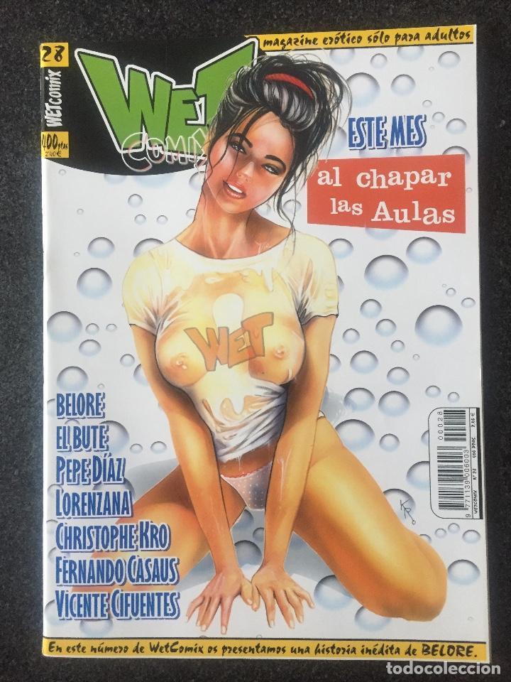 WET COMIX Nº 28 - MAGAZINE ERÓTICO SOLO PARA ADULTOS - MEGAMULTIMEDIA - 2000 - ¡NUEVO! (Tebeos y Comics - La Cúpula - Comic Europeo)