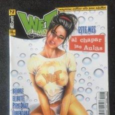 Cómics: WET COMIX Nº 28 - MAGAZINE ERÓTICO SOLO PARA ADULTOS - MEGAMULTIMEDIA - 2000 - ¡NUEVO!. Lote 276798793