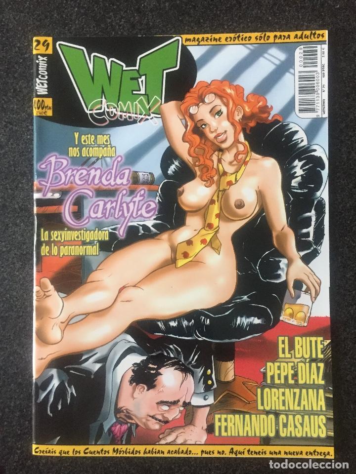 WET COMIX Nº 29 - MAGAZINE ERÓTICO SOLO PARA ADULTOS - MEGAMULTIMEDIA - 2000 - ¡NUEVO! (Tebeos y Comics - La Cúpula - Comic Europeo)