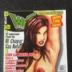 Fumetti: WET COMIX Nº 35 - MAGAZINE ERÓTICO SOLO PARA ADULTOS - MEGAMULTIMEDIA - 2001 - ¡NUEVO!. Lote 207541847
