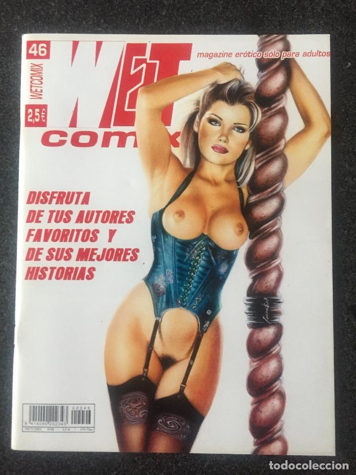 WET COMIX Nº 46 - MAGAZINE ERÓTICO SOLO PARA ADULTOS - MEGAMULTIMEDIA - 2002 - ¡NUEVO! (Tebeos y Comics - La Cúpula - Comic Europeo)