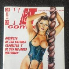 Cómics: WET COMIX Nº 46 - MAGAZINE ERÓTICO SOLO PARA ADULTOS - MEGAMULTIMEDIA - 2002 - ¡NUEVO!. Lote 276798298