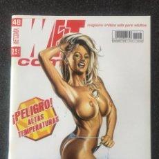 Fumetti: WET COMIX Nº 48 - MAGAZINE ERÓTICO SOLO PARA ADULTOS - MEGAMULTIMEDIA - 2002 - ¡NUEVO!. Lote 207543466