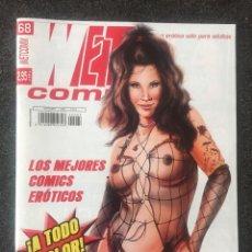 Fumetti: WET COMIX Nº 68 - MAGAZINE ERÓTICO SOLO PARA ADULTOS - MEGAMULTIMEDIA - 2004 - ¡NUEVO!. Lote 207545322