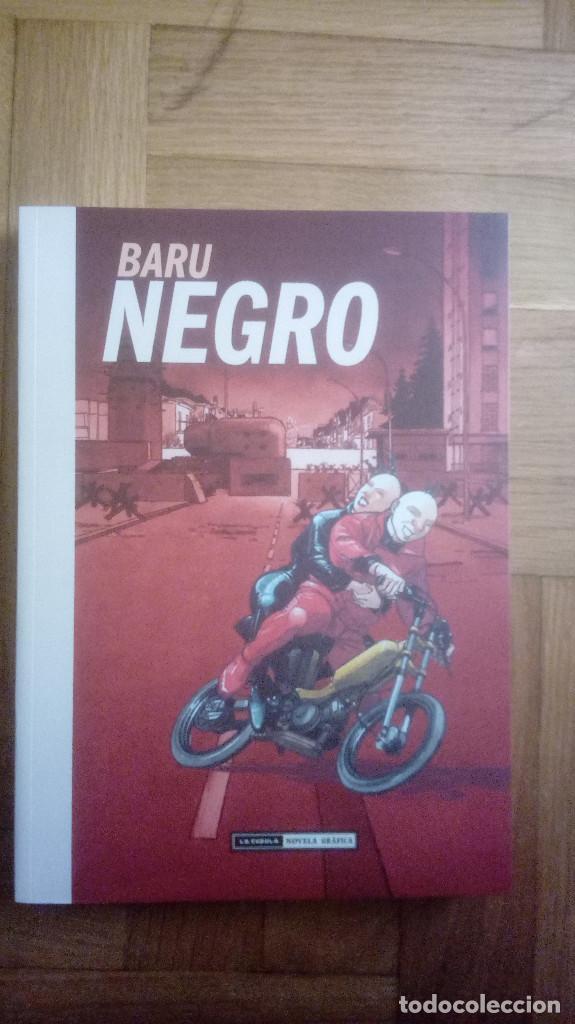 NEGRO. (BARU) IMPECABLE (Tebeos y Comics - La Cúpula - Comic Europeo)